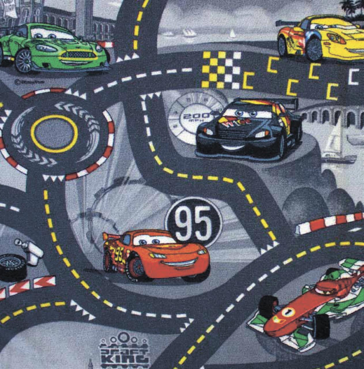 Детский ковролин WORLD OF CARS 2 97
