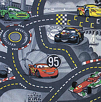 Детский ковролин WORLD OF CARS 2 97, фото 1