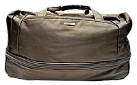 Практичная дорожная сумка на 3 колесах коричневого цвета DGM-742264, фото 1