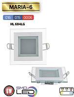 "LED светильник ""MARIA"" 6W 3000/4200/6400K Horoz"