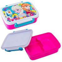 """Детский контейнер для еды """"Frozen"""" с разделителем 705778 1 Вересня"""