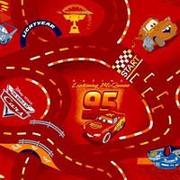 Ковер в детскую для мальчика WORLD OF CARS 10