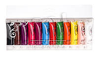 Акриловые краски набор Global fashion 12 шт по 12 мл
