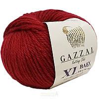 Пряжа gazzal baby wool 816 XL в моточках для ручного вязания