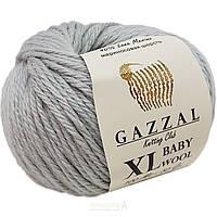 Пряжа gazzal baby wool 817 XL в моточках для ручного вязания