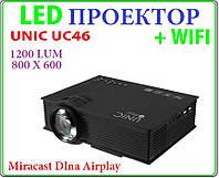 Unic UC46 + WIFI проектор , фото 1