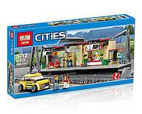 Конструктор Lepin 02015 Cities Железнодорожный вокзал (аналог Lego City 60050)