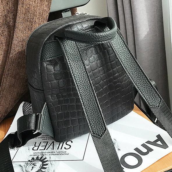 жіночий рюкзак з тканини