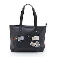 Женская сумка из кожзама D. Jones CM3570, black