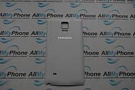 Задняя панель корпуса Samsung N910F Galaxy Note 4/N910H Galaxy Note 4 Белая