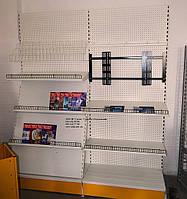 Торговое оборудование для магазина бытовой техники и электроники. Стеллажи торговые WIKO