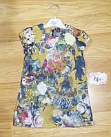 Теплое нарядное платье для девочки (на рост 98, 104, 110 см) Турция