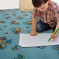 Детский коврик для игры на полу Фани Бир 72, фото 1