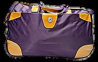 Удобная сумка-чемодан на колесах фиолетового цвета EEE-012331, фото 1