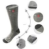 """Шкарпетки з підігрівом """"Eco-obogrev UP"""" 2200mAh з акумуляторами, 38― 45°C, обігрів над пальцями., фото 3"""