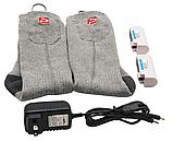 """Шкарпетки з підігрівом """"Eco-obogrev UP"""" 2200mAh з акумуляторами, 38― 45°C, обігрів над пальцями., фото 4"""