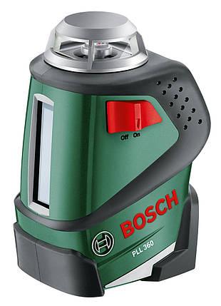 Нивелир лазерный Bosch Professional PLL 360 SET, фото 2