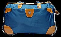 Удобная сумка-чемодан на колесах синего цвета EEE-012353, фото 1
