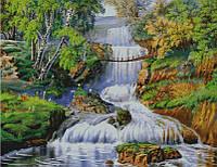 """Набор для вышивания - """"Лесной водопад"""""""
