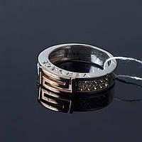 Серебряное кольцо Версаче Украина, фото 1