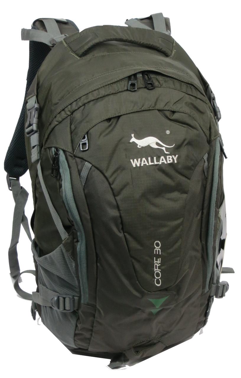 Качественный спортивный рюкзак 30 л. Wallaby М5615-1 оливковый