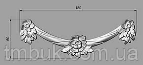 Горизонтальный декор 114 бант - 180х60 мм, фото 2