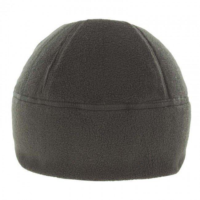 Зимова шапка з флісу. Військова шапка чорного кольору.