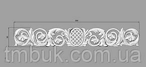 Горизонтальный декор 117 сетка - 590х90 мм, фото 2