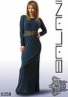 Женское длинное красивое платье со скидкой, одежда от производителя  -  6358 р-р 44 46