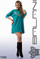 Женское платье, Большие размеры, красивое, стильное , модное-  7366
