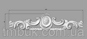 Горизонтальный декор 122 - 360х80 мм, фото 2