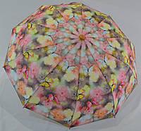 """Женский зонт полуавтомат """"бабочки"""" от фирмы """"SL""""."""
