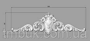 Горизонтальный декор 123 - 300х90 мм, фото 2