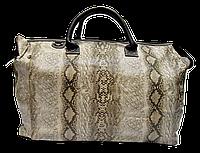 Превосходная дорожная сумка под кожу змеи НАО-936431