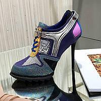 DKNY ботинки на шпильке , фото 1