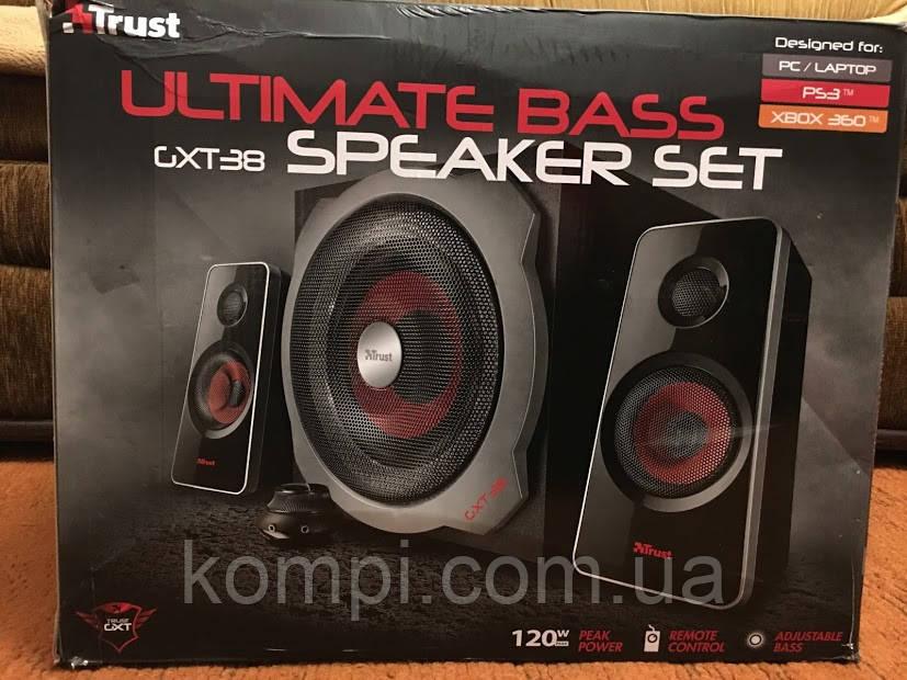 Акустическая система Trust GXT 38 2.1 Subwoofer Speaker Set б/у