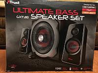 Акустическая система Trust GXT 38 2.1 Subwoofer Speaker Set б/у, фото 1