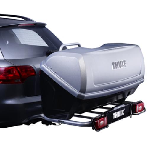 Багажник Вантажний бокс Thule BackUp 900. Універсальні фаркопные кріплення Thule