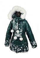Зимнее Z 810 пальто на 100% холлофайбере размеры 134-152