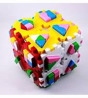 Сортер Куб Умный малыш Супер Логика
