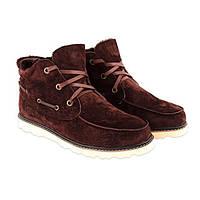 UGG David Beckham Lace Brown. Стильные мужские ботинки. Интернет магазин качественной обуви.