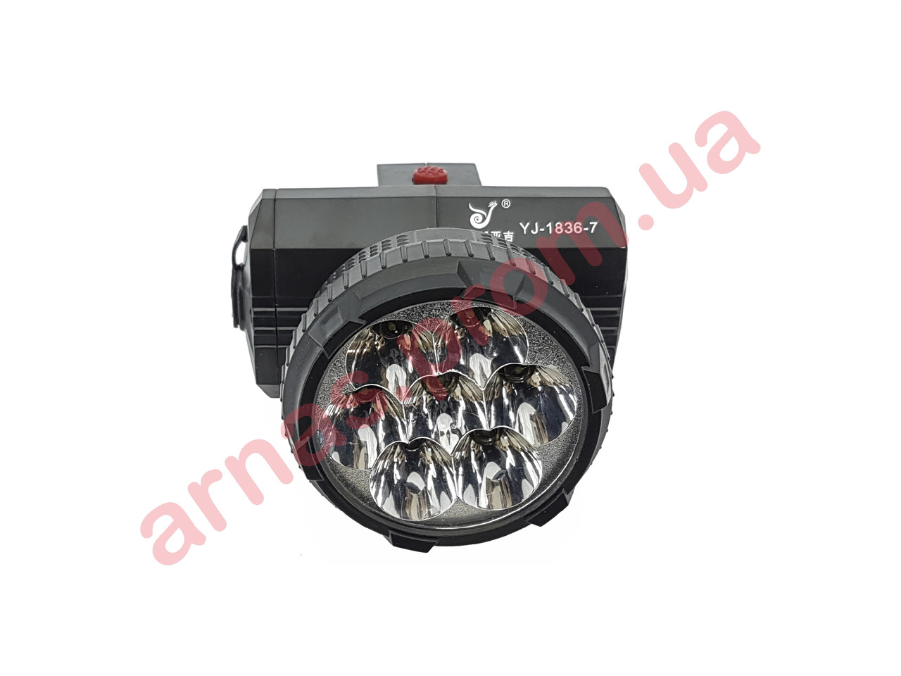 Аккумуляторный налобный фонарь Yajia YJ-1836-7