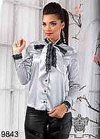 РАСПРОДАЖА ! Блуза  с  кружевом  -  9843 р-р S   M  женская одежда в интернет магазине Украина