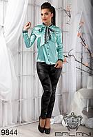 РАСПРОДАЖА ! Блуза  с  кружевом  -  9844  женская одежда в интернет магазине Украина
