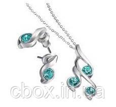 "Набор бижутерии колье и серьги ""Совершенство"", Avon, Necklace and Earrings Giftset, Эйвон, 65327"