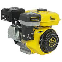 Двигатель бензиновый Кентавр ДВЗ-200Б1Х (6,5 л.с., шпонка, вал 20мм, редуктор)