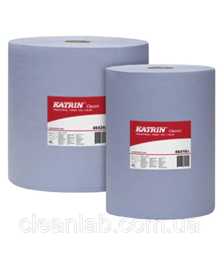 Бумага Grass  Katrin Classic L3.Бумага трёхслойная синяя, размер отрыва 38*38см, 1000 отрывов