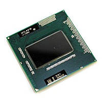 Процессор для ноутбука G1 Intel Core i7-720QM 4x1,6Ghz (Turbo Boost 2,8Ghz) 6Mb Cache 2500Mhz Bus бу (без видео)