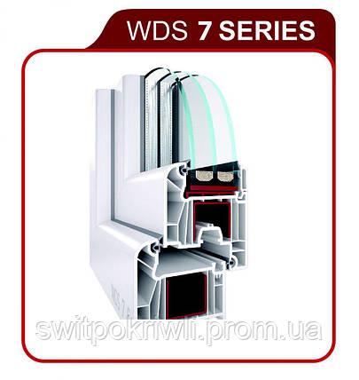 Металлопластиковые окна WDS 7 SERIES, фото 2