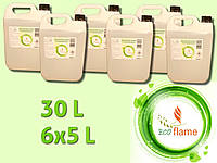 Біопаливо Ecoflame 6х5л. 30 літрів